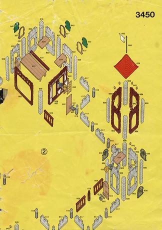 Ludoplaymo notice du chateau 3450 for Trouver des plans de construction